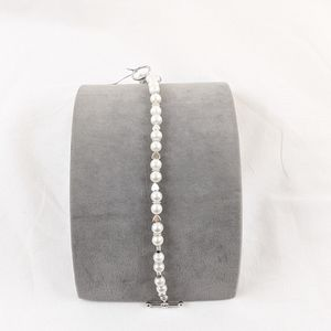 Jewelry - Authentic Cultured Pearl & Sterling Heart Bracelet